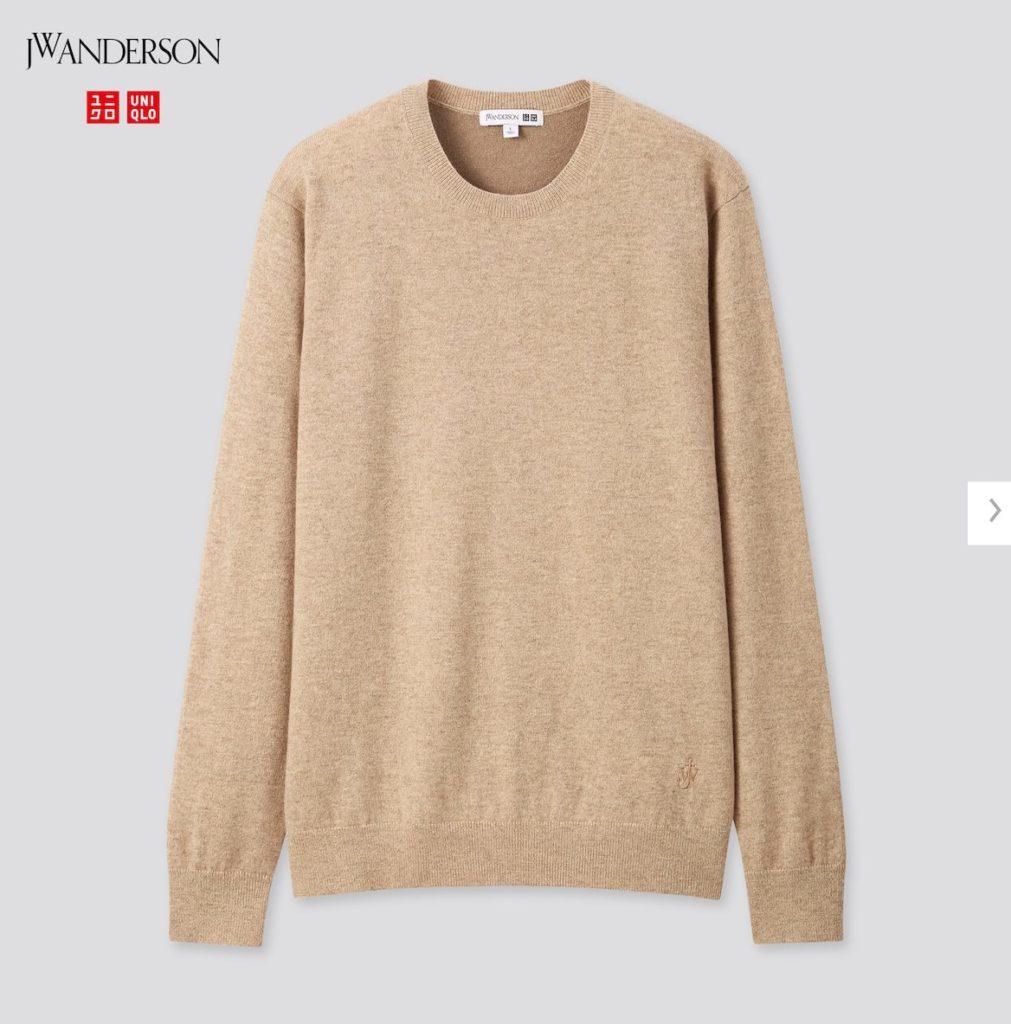 2020JWアンダーソンカシミヤクルーネックセーターの価格