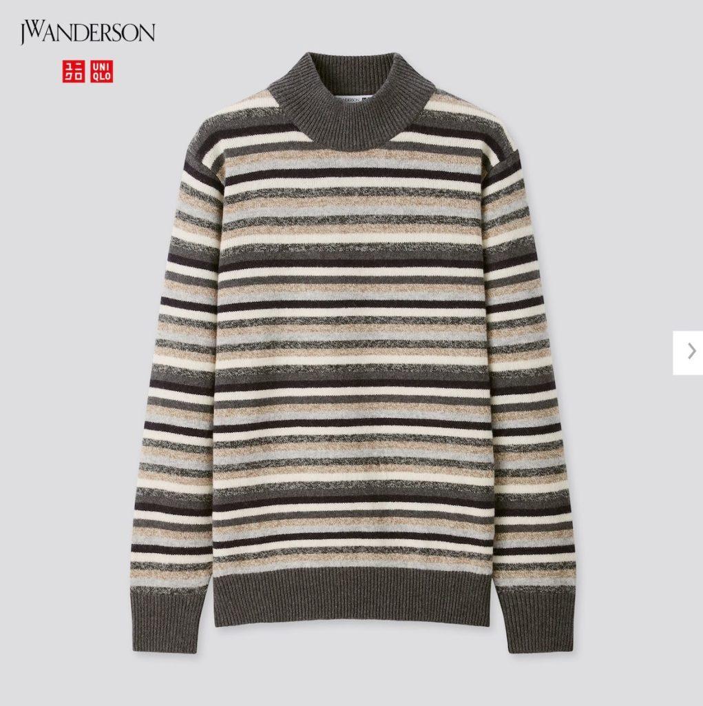 2020JWアンダーソンプレミアムラムモックネックセーターの価格