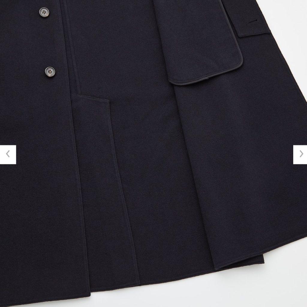 2020JWアンダーソンダブルフェイスシングルコートの素材2