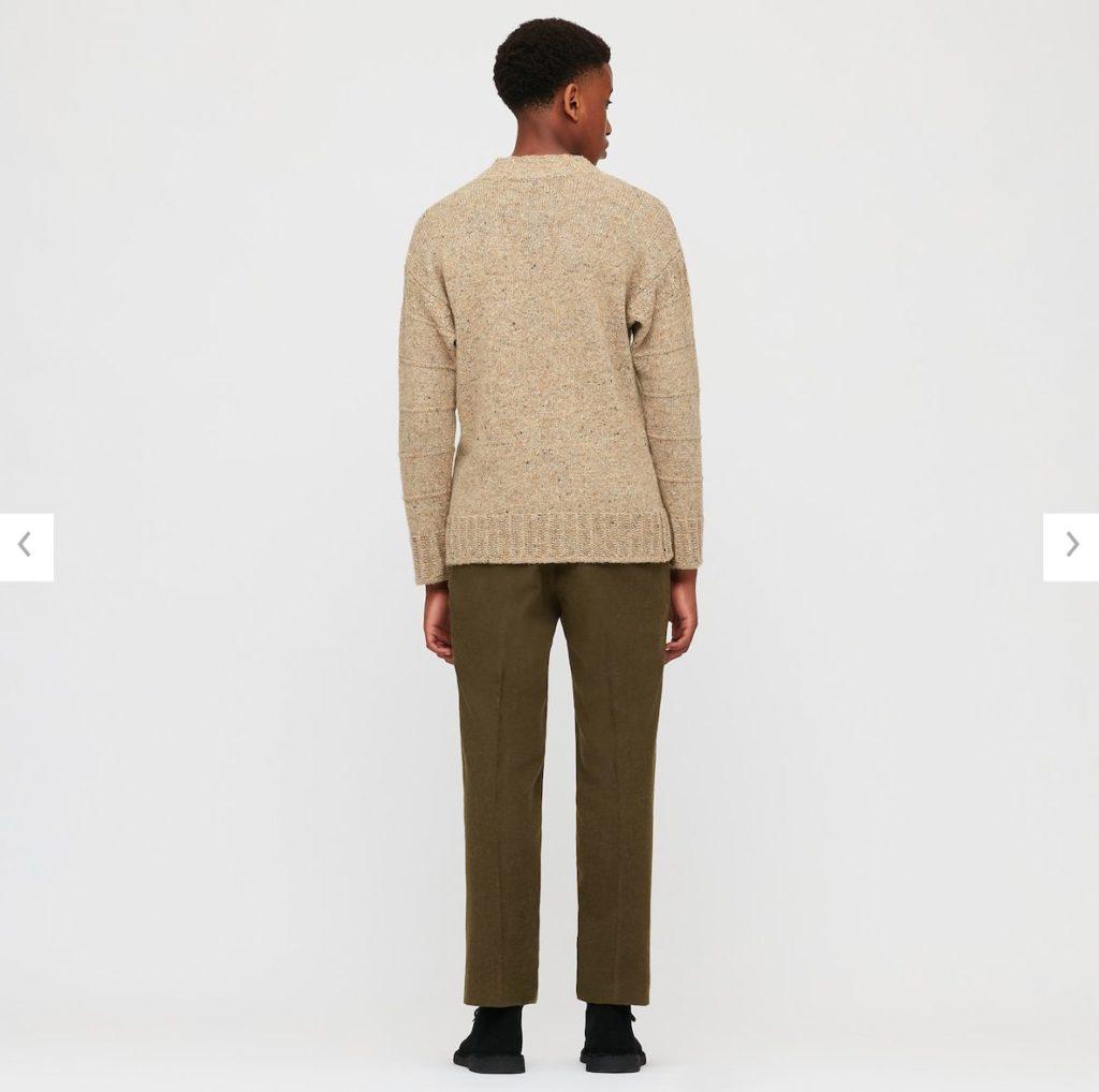 2020JWアンダーソンローゲージクルーネックセーターのモデル2