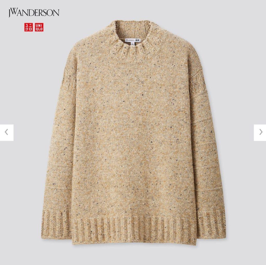 2020JWアンダーソンローゲージクルーネックセーターの価格