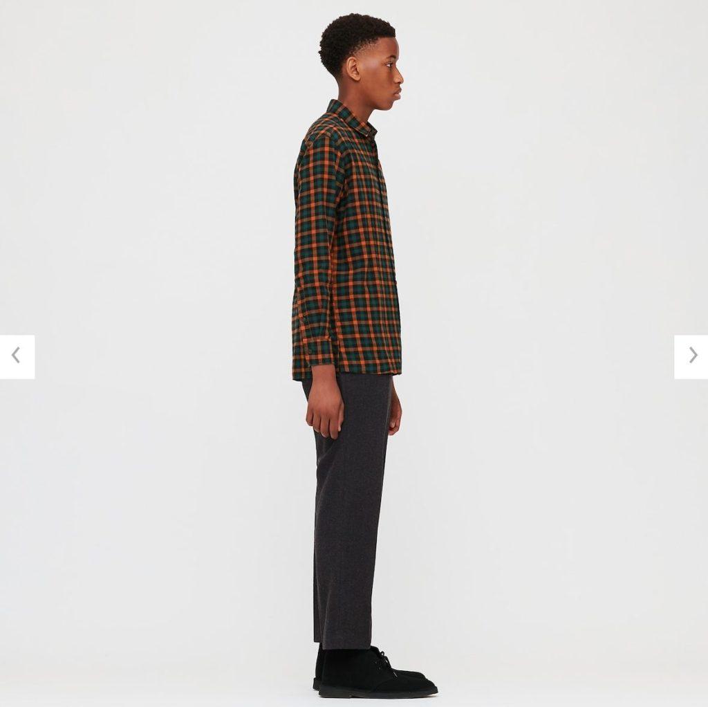 2020JWアンダーソンファインクロスシャツ1のモデル2