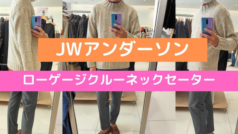 2020JWアンダーソンローゲージクルーネックセーターのアイキャッチ画像