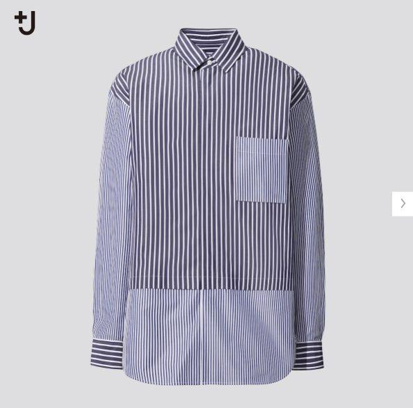 +Jスーピマコットン オーバーサイズシャツの価格