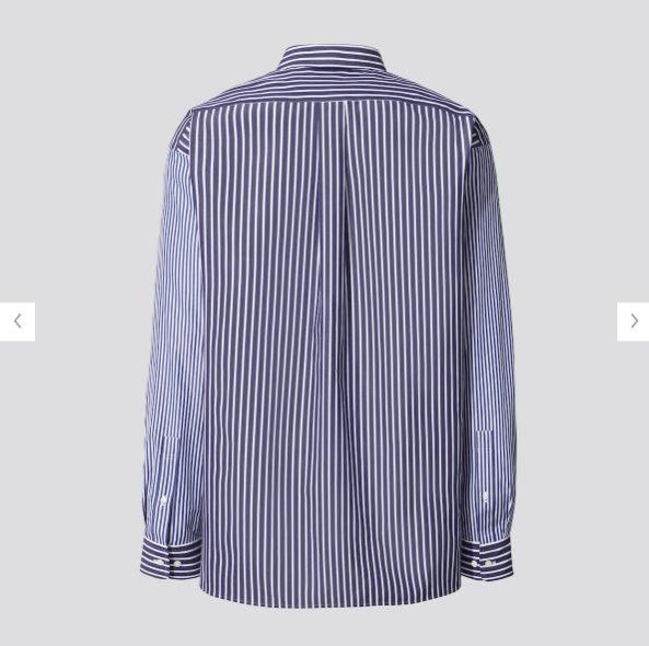 +Jスーピマコットン オーバーサイズシャツの素材1