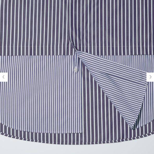 +Jスーピマコットン オーバーサイズシャツの素材3