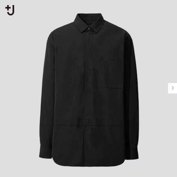 +Jスーピマコットン オーバーサイズシャツノーマルの価格