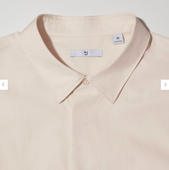 +Jスーピマコットン オーバーサイズシャツノーマルの素材1