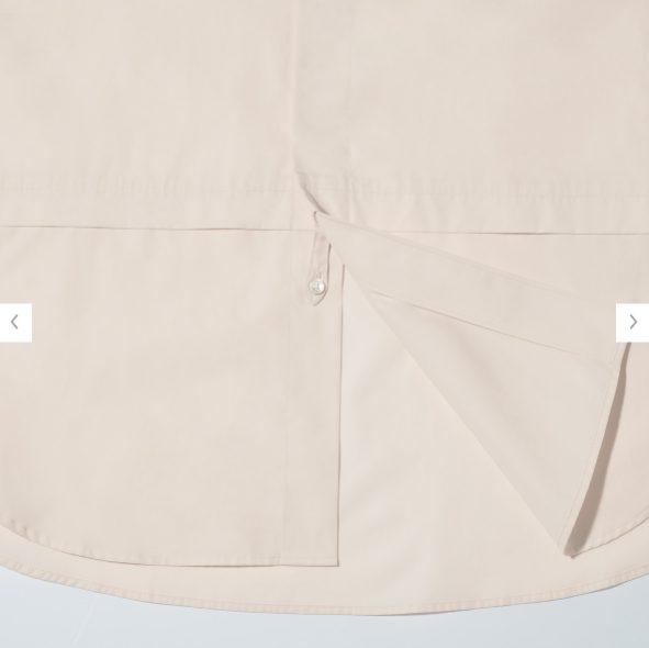 +Jスーピマコットン オーバーサイズシャツノーマルの素材2