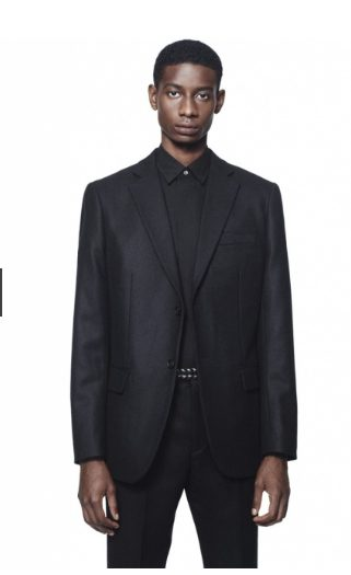 +Jスーピマコットン オーバーサイズシャツノーマルのモデル1
