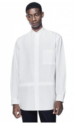 +Jスーピマコットン オーバーサイズシャツノーマルのモデル2