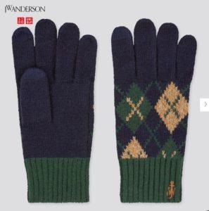 ユニクロJWAの手袋2