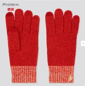 ユニクロJWAの手袋4