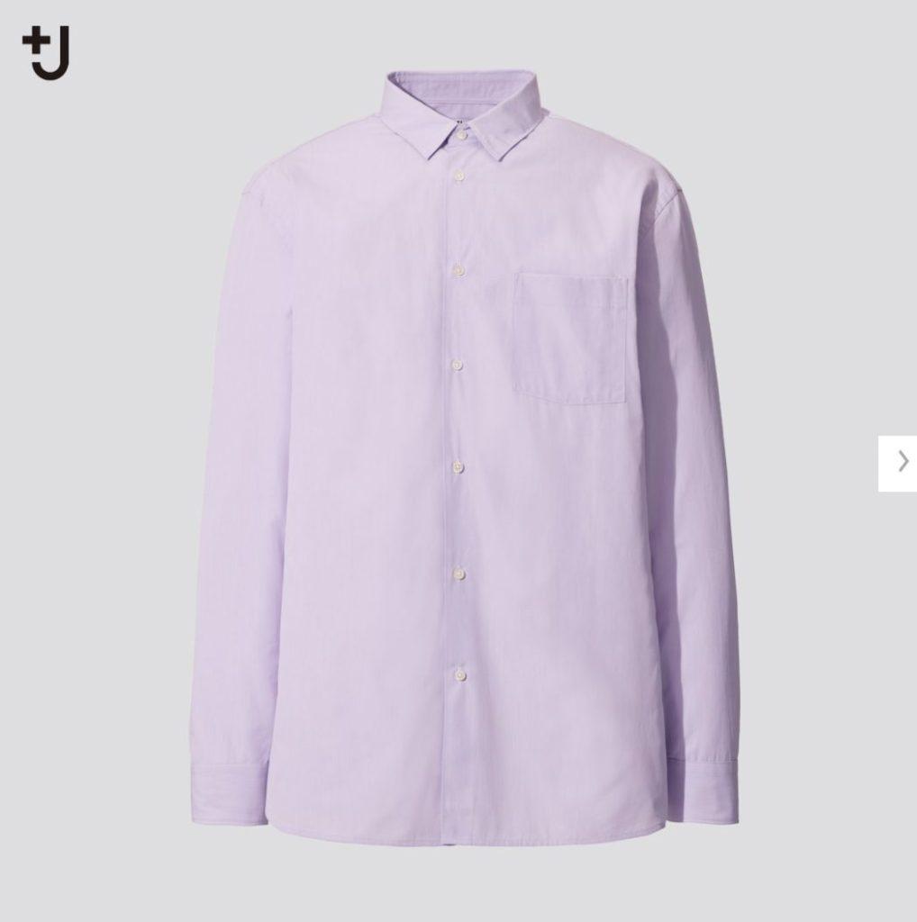 +Jスーピマコットンレギュラーフィットシャツのスタイル1