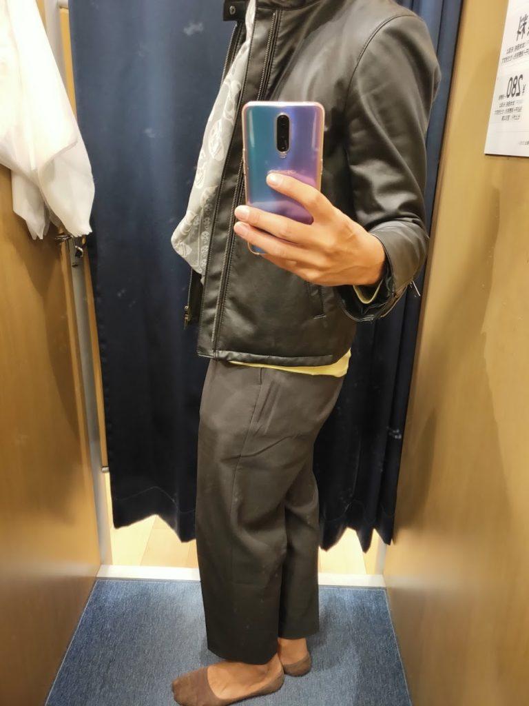 2020年12月1日本日の私服横