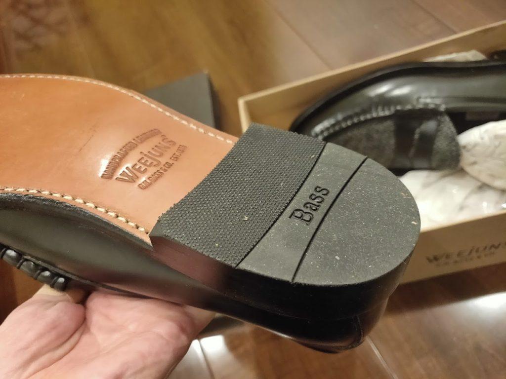 GHBASS-WEEJUNSの靴裏2