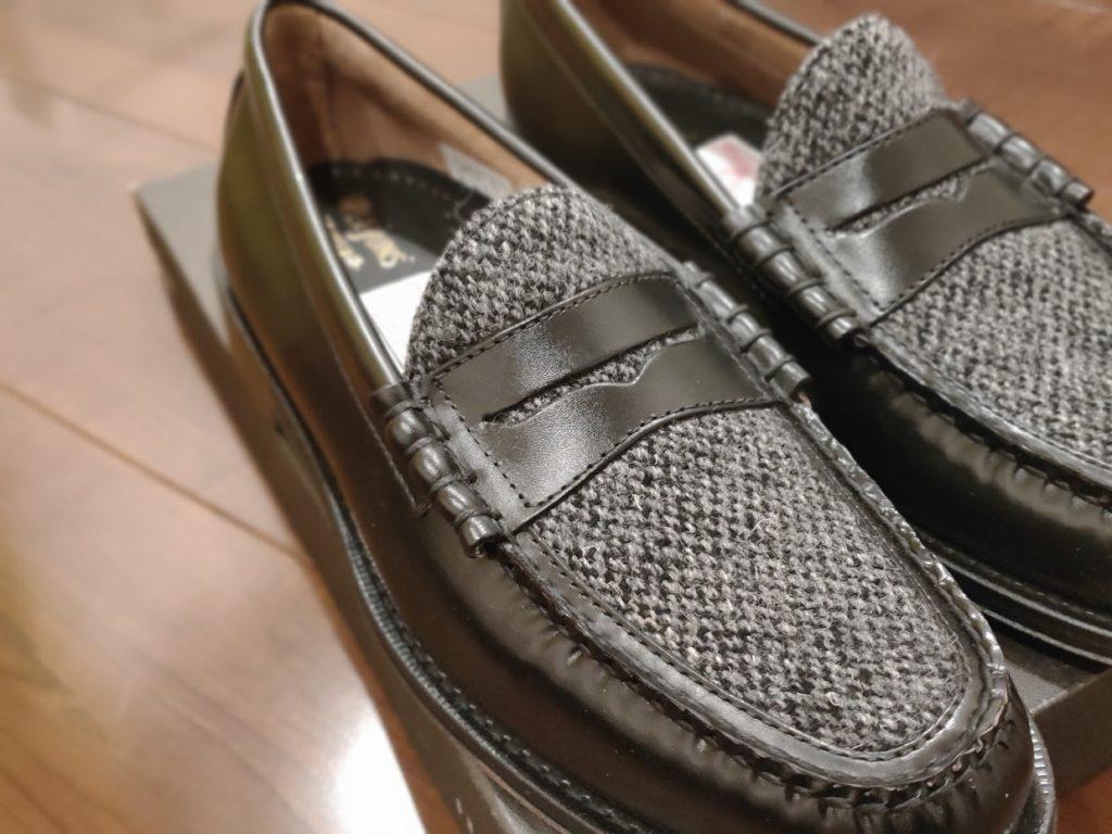 GHBASS-WEEJUNSの靴上前から