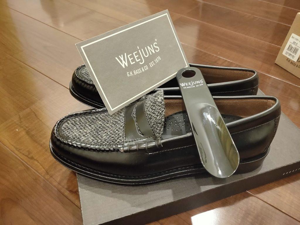 GHBASS-WEEJUNSの靴の内容物詳細