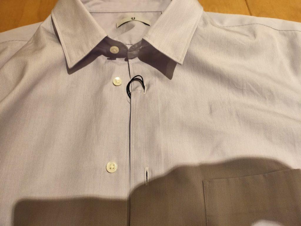 +Jスーピマコットンレギュラーフィットシャツの生地詳細6