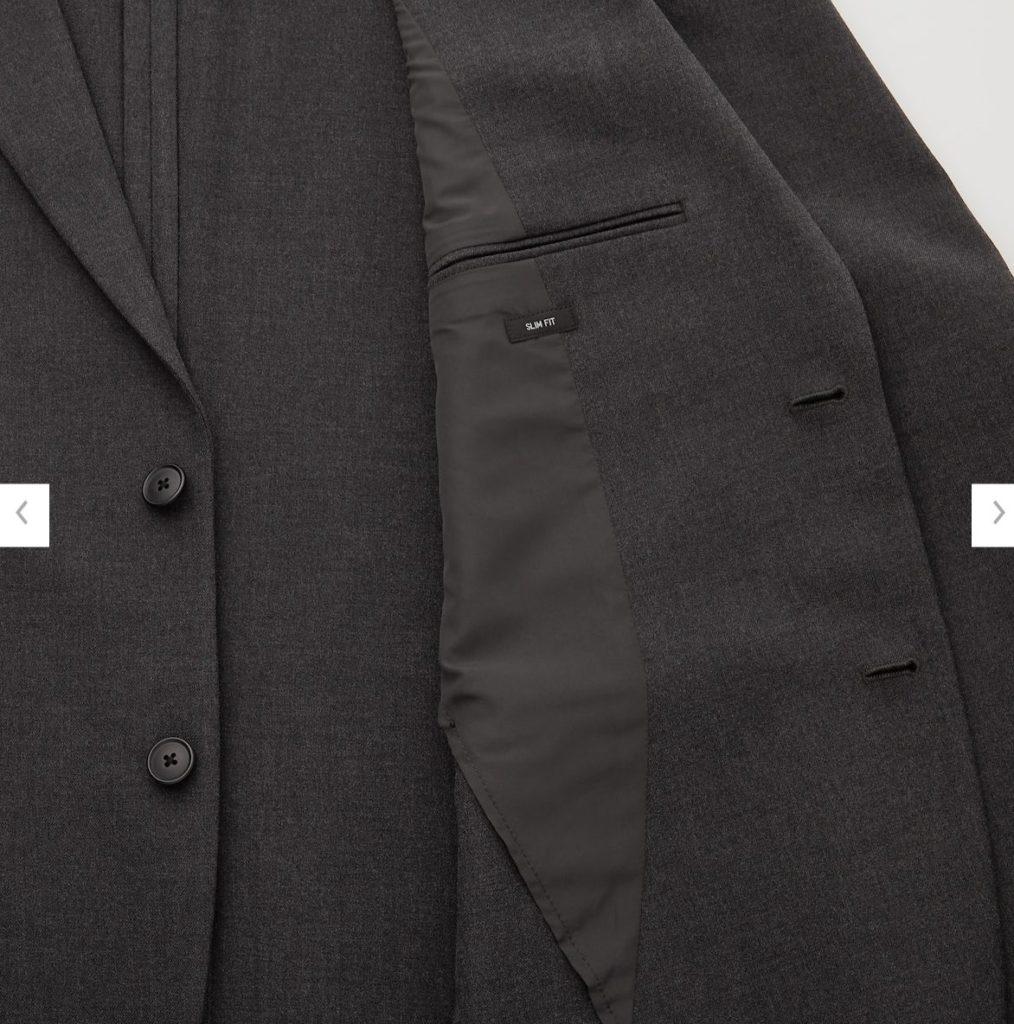 2WAYストレッチジャケットの素材2
