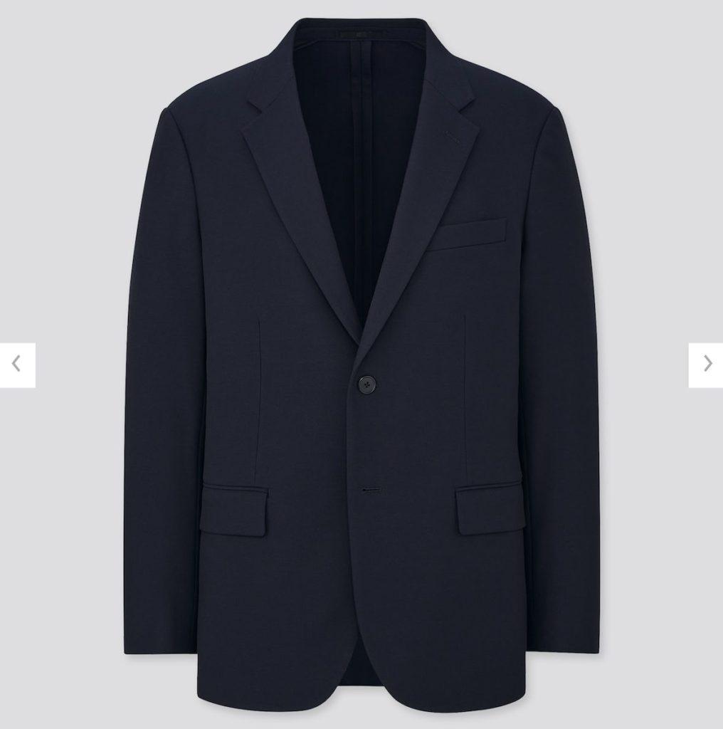 2WAYストレッチジャケットのスタイル