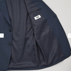 2021年春夏ユニクロUレギュラーフィットテーラード ジャケットのモデル4