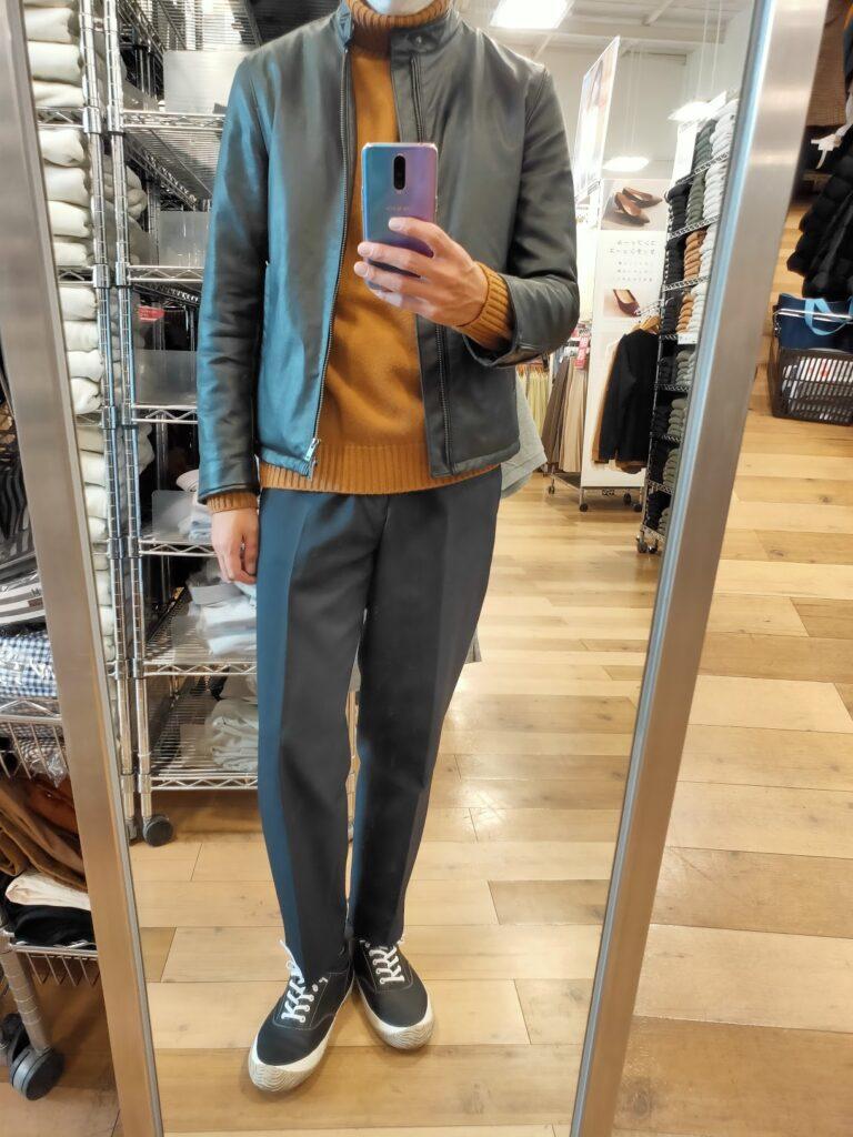 20210115本日のファッション前