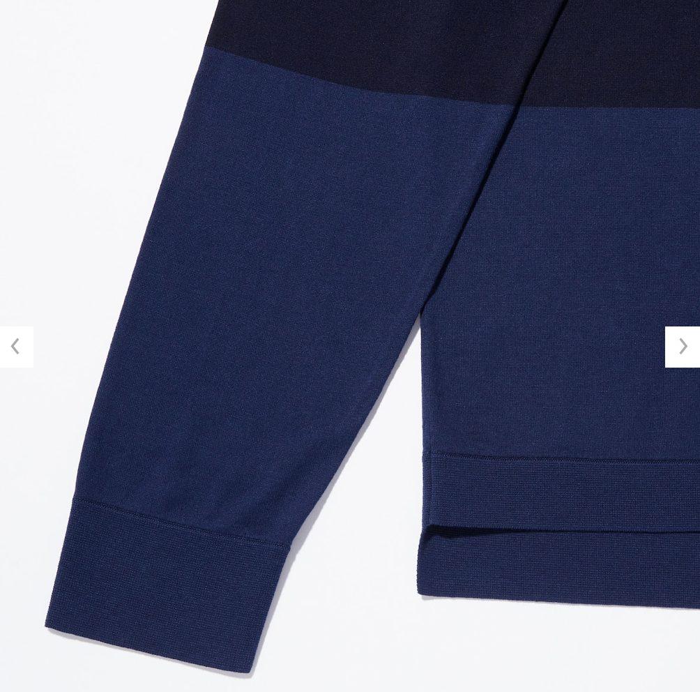 2021ssjシルクコットンクルーネックセーターのスタイル4