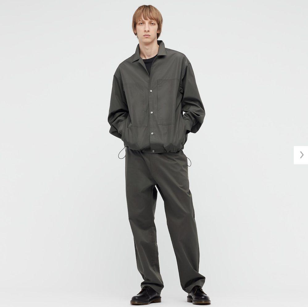 2021ssjスーピマコットンオーバーサイズシャツブルゾンのスタイル2