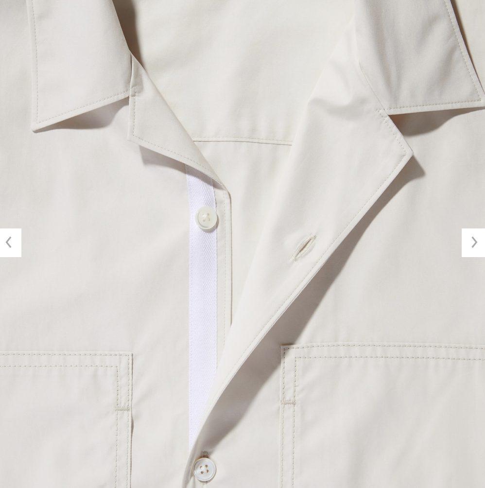 2021ssjスーピマコットンオーバーサイズシャツブルゾンのスタイル4