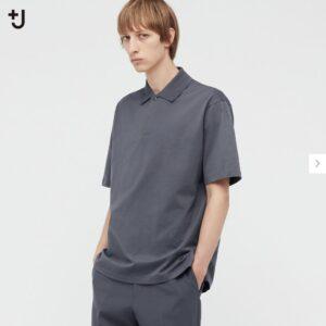 2021ssjリラックスフィットポロシャツのスタイル1
