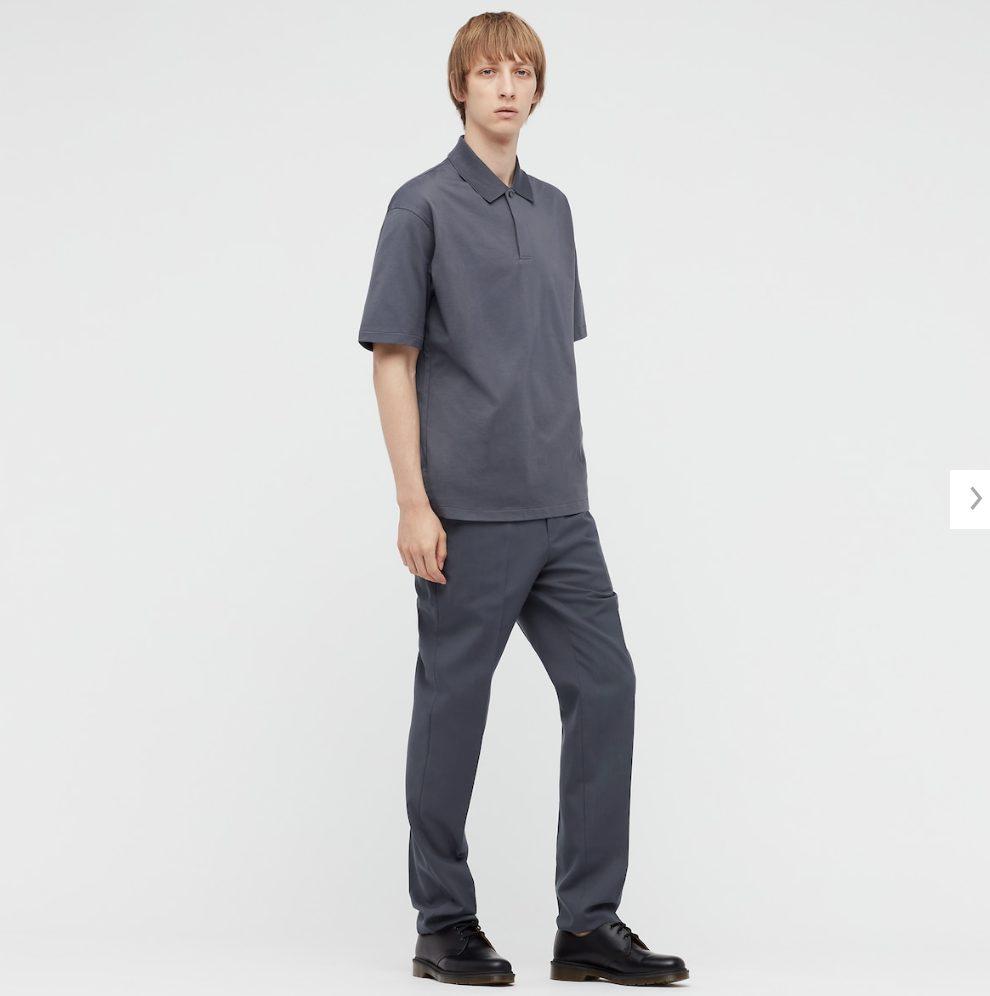 2021ssjリラックスフィットポロシャツのスタイル2