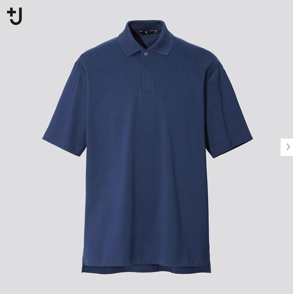 2021ssjリラックスフィットポロシャツのスタイル3