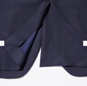 2021ssjウールテーラードジャケット(ストライプ) のスタイル5