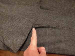 パンツの長さスラックス3