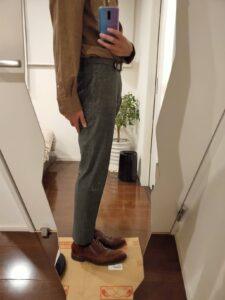 パンツの長さスラックス8