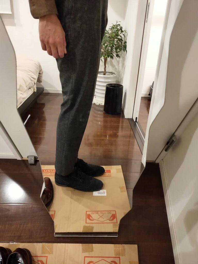 パンツの長さスラックス10