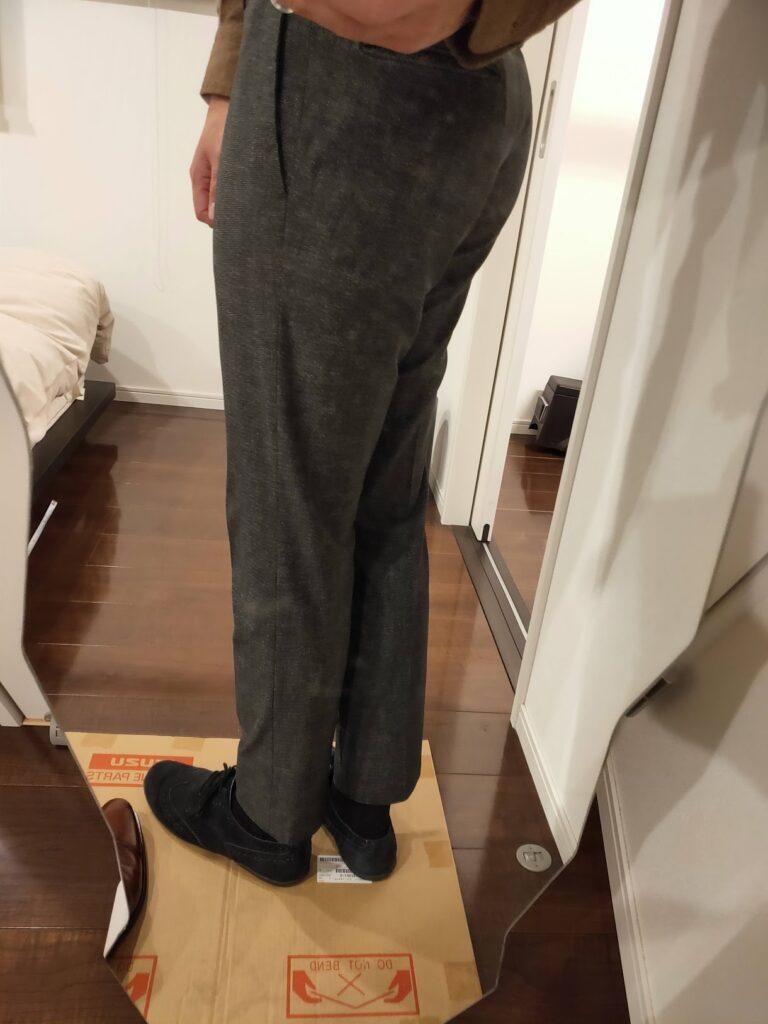 パンツの長さスラックス11