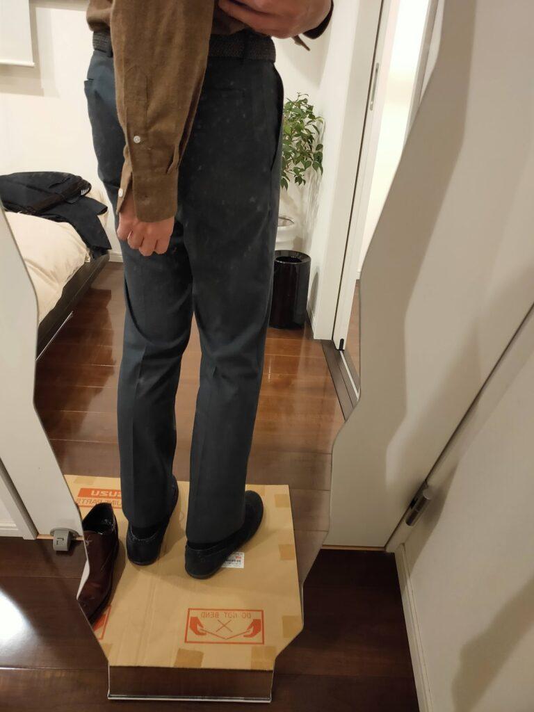 パンツの長さビジネスパンツ12