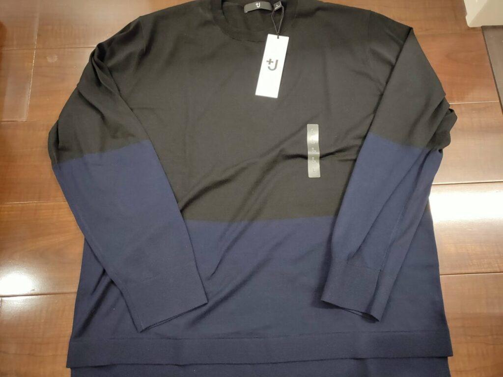 2021ssjシルクコットンクルーネックセーターのアイテム1