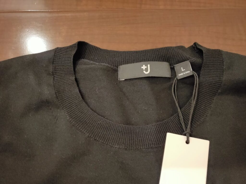 2021ssjシルクコットンクルーネックセーターのアイテム4