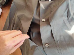 2021ssjスーピマコットンオーバーサイズシャツブルゾンのアイテム8