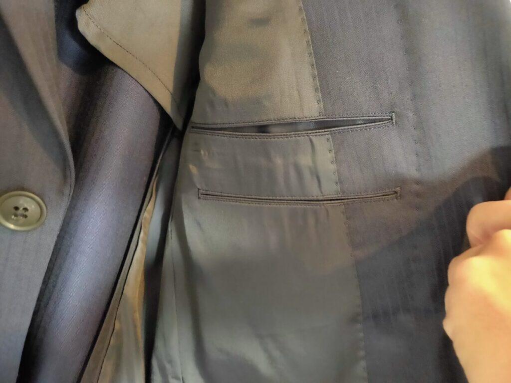 2021ssjウールテーラードジャケット(ストライプ) のアイテム4