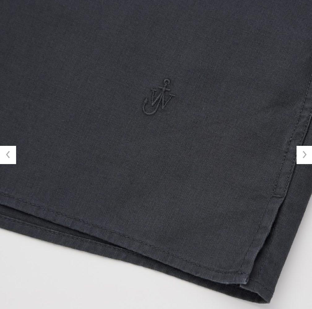 2021SSJWアンダーソンツイルオーバーサイズワークシャツのスタイル5