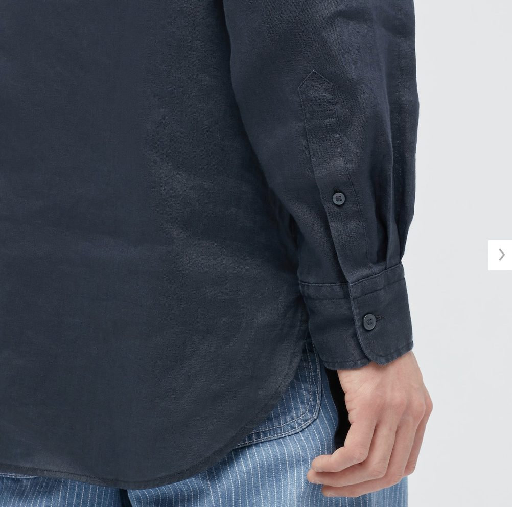 2021SSJWアンダーソンプレミアムリネンオーバーサイズスタンドカラーシャツのスタイル5