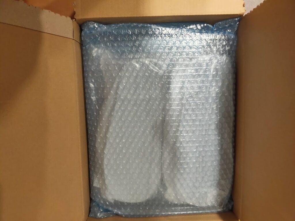 2021モンベルビームスサンダルのパッケージ2