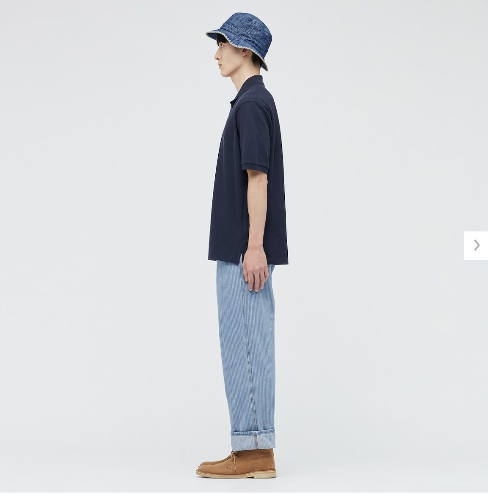 2021SSJWアンダーソンポロシャツのスタイル2