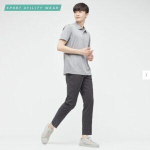 2021ssウール感動パンツのスタイル1