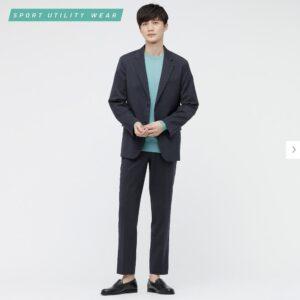 2021ssウール感動パンツのスタイル4