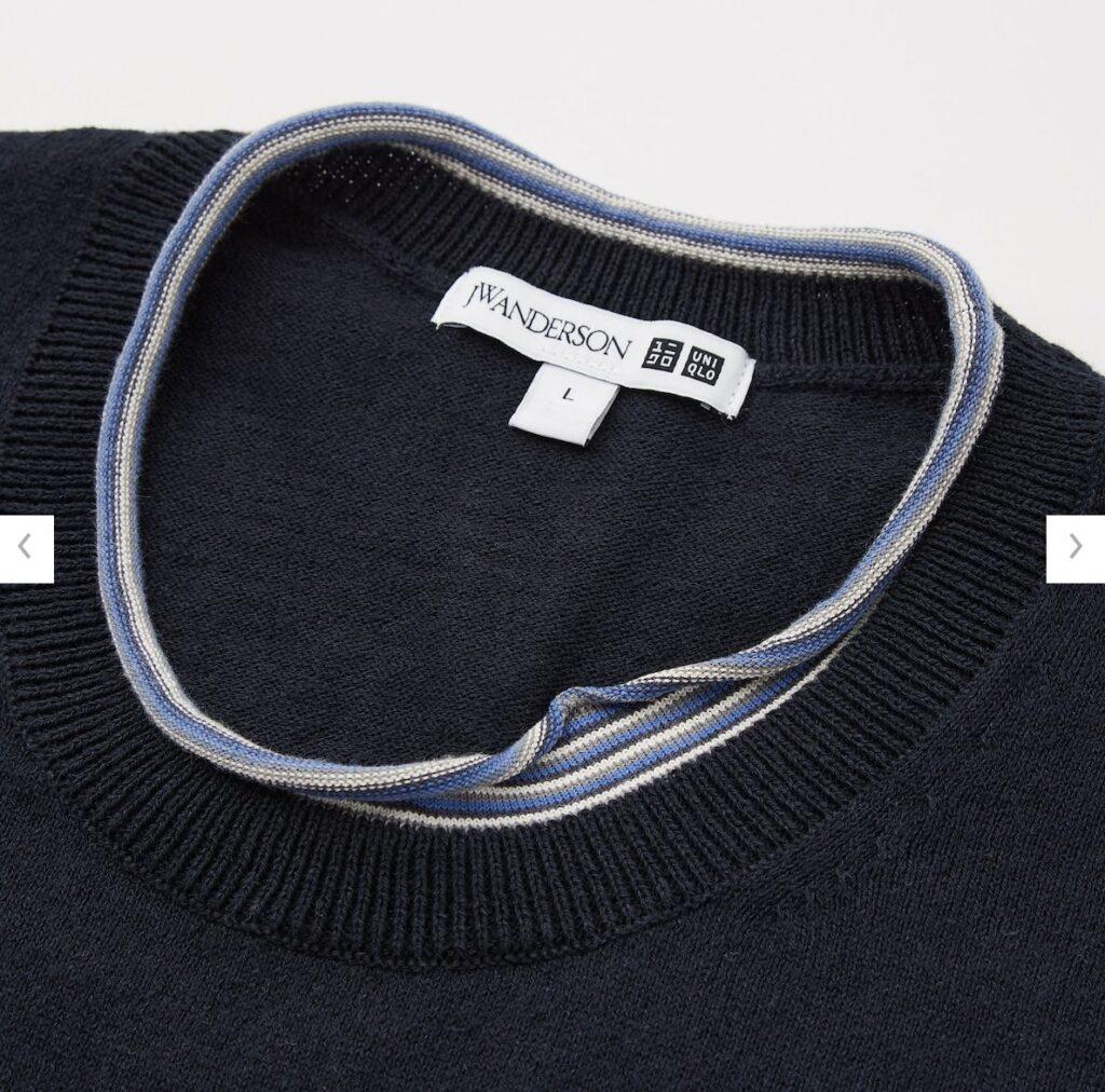 2021SSJWアンダーソンリネンブレンドクルーネックセーターのスタイル4